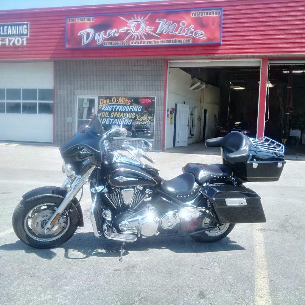 Motorcycle Detailing Service in Kitchener - Dyn-O-Mite Detailing