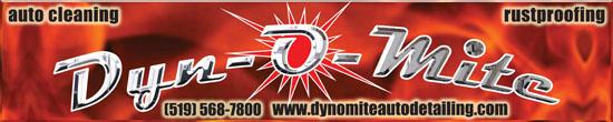 Dyn-O-Mite Detailing Logo